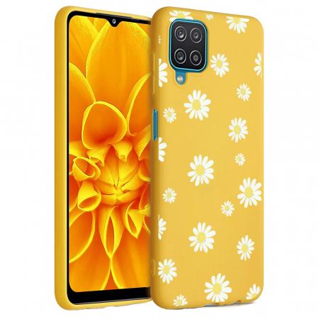 Husa Samsung Galaxy A12 - A42  - Silicon Matte - Flowers 1 [1]