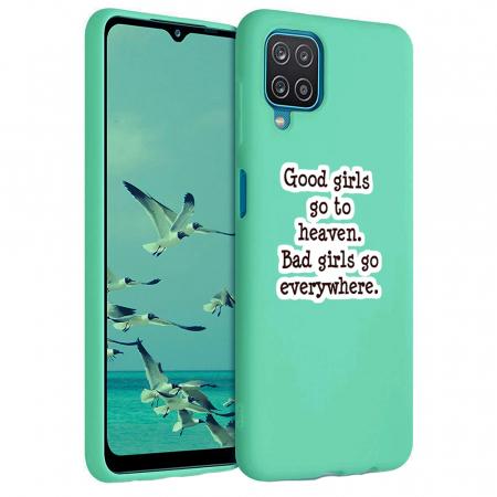 Husa Samsung Galaxy A12 - A42  - Silicon Matte - Good girls [3]