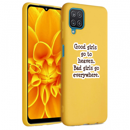 Husa Samsung Galaxy A12 - A42  - Silicon Matte - Good girls [1]