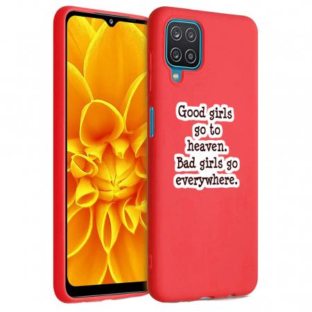 Husa Samsung Galaxy A12 - A42  - Silicon Matte - Good girls [5]