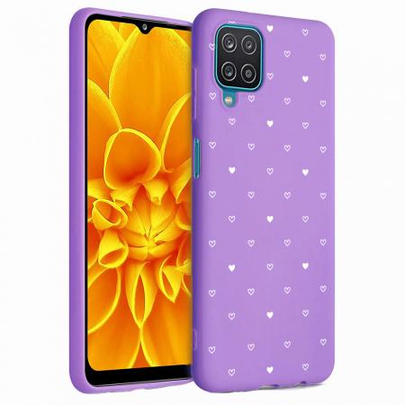 Husa Samsung Galaxy A12 - A42  - Silicon Matte - Heart 2 [4]