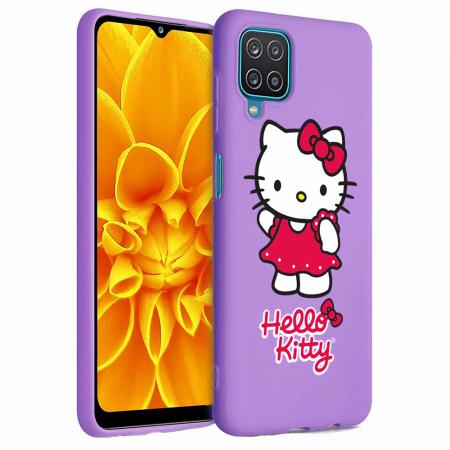Husa Samsung Galaxy A12 - A42  - Silicon Matte - Hello Kitty [3]