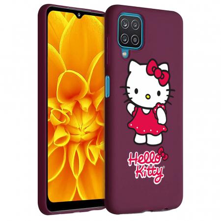 Husa Samsung Galaxy A12 - A42  - Silicon Matte - Hello Kitty [6]