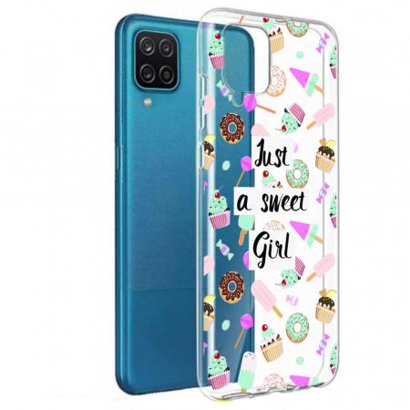 Husa Samsung Galaxy A12 - A42  - Silicon Matte - Just a sweet girl [1]