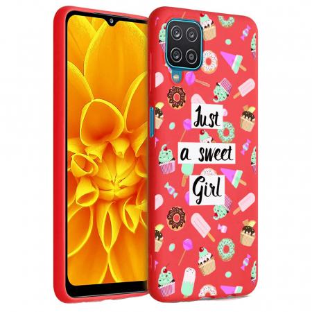 Husa Samsung Galaxy A12 - A42  - Silicon Matte - Just a sweet girl [7]