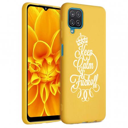 Husa Samsung Galaxy A12 - A42  - Silicon Matte - Keep Calm [6]