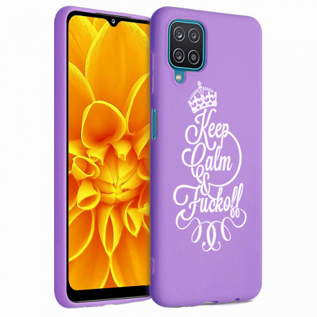 Husa Samsung Galaxy A12 - A42  - Silicon Matte - Keep Calm [0]