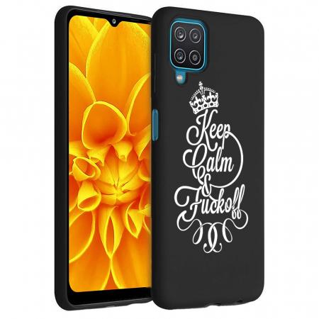 Husa Samsung Galaxy A12 - A42  - Silicon Matte - Keep Calm [5]