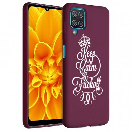 Husa Samsung Galaxy A12 - A42  - Silicon Matte - Keep Calm [1]