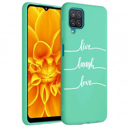 Husa Samsung Galaxy A12 - A42  - Silicon Matte - Live Love [3]