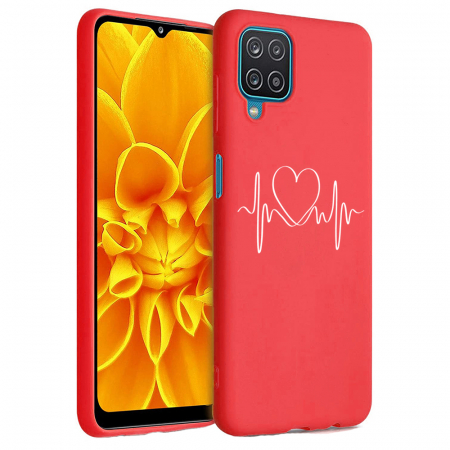 Husa Samsung Galaxy A12 - A42  - Silicon Matte - Life Line [1]