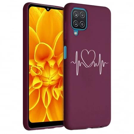 Husa Samsung Galaxy A12 - A42  - Silicon Matte - Life Line [0]