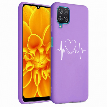 Husa Samsung Galaxy A12 - A42  - Silicon Matte - Life Line [3]