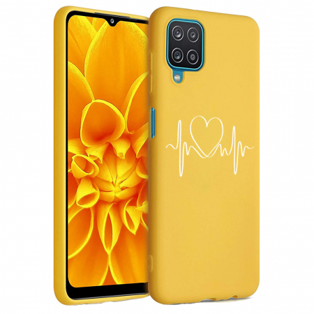 Husa Samsung Galaxy A12 - A42  - Silicon Matte - Life Line [6]