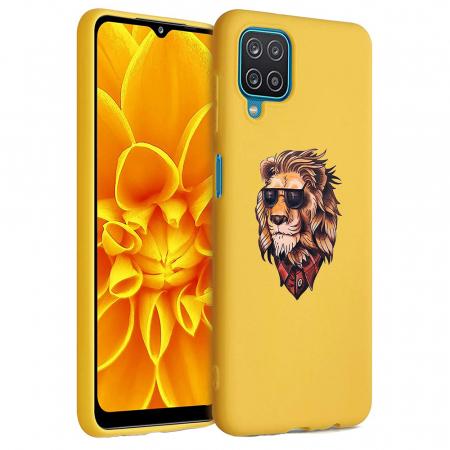 Husa Samsung Galaxy A12 - A42  - Silicon Matte - Lion 1 [6]