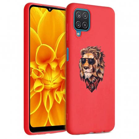 Husa Samsung Galaxy A12 - A42  - Silicon Matte - Lion 1 [2]