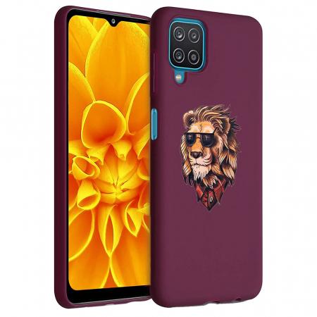 Husa Samsung Galaxy A12 - A42  - Silicon Matte - Lion 1 [1]