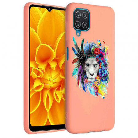 Husa Samsung Galaxy A12 - A42  - Silicon Matte - Lion 2 [5]