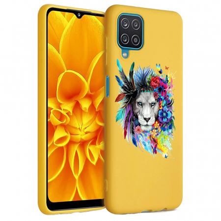 Husa Samsung Galaxy A12 - A42  - Silicon Matte - Lion 2 [1]