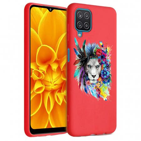 Husa Samsung Galaxy A12 - A42  - Silicon Matte - Lion 2 [0]