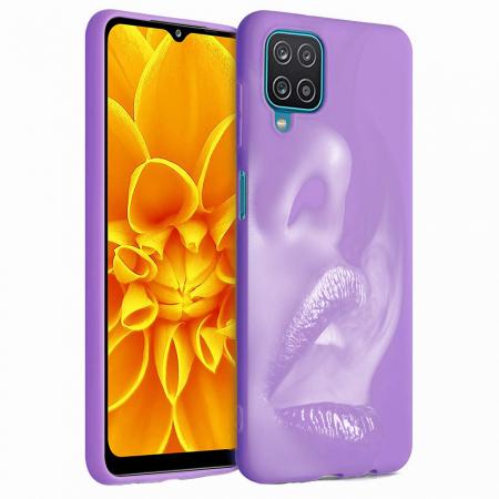 Husa Samsung Galaxy A12 - A42  - Silicon Matte - Lips 1 [3]