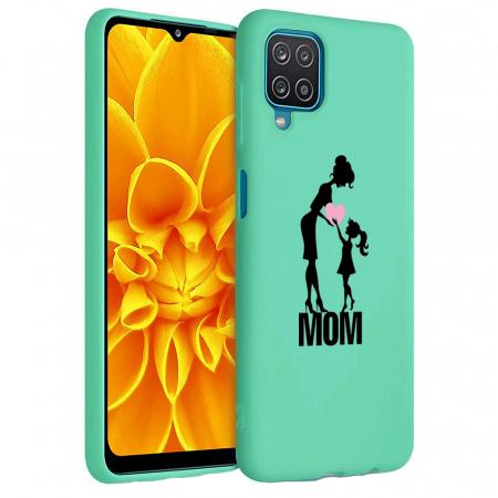 Husa Samsung Galaxy A12 - A42  - Silicon Matte - Love mom [0]