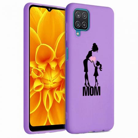 Husa Samsung Galaxy A12 - A42  - Silicon Matte - Love mom [4]