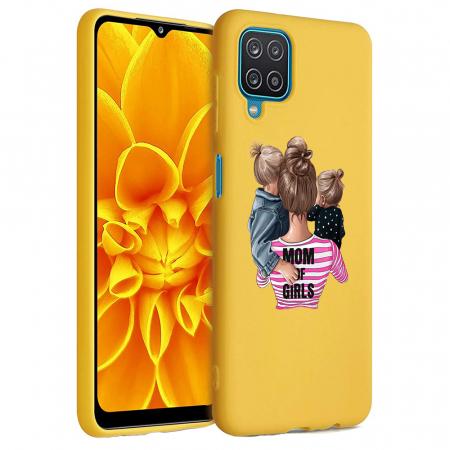 Husa Samsung Galaxy A12 - A42  - Silicon Matte - Mom Of Girls [1]