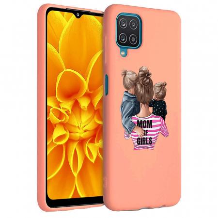 Husa Samsung Galaxy A12 - A42  - Silicon Matte - Mom Of Girls [4]