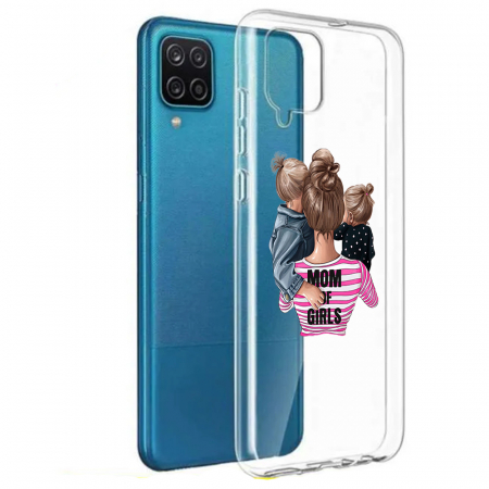 Husa Samsung Galaxy A12 - A42  - Silicon Matte - Mom Of Girls [7]