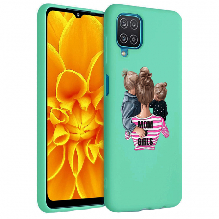 Husa Samsung Galaxy A12 - A42  - Silicon Matte - Mom Of Girls [2]