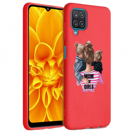 Husa Samsung Galaxy A12 - A42  - Silicon Matte - Mom Of Girls [5]