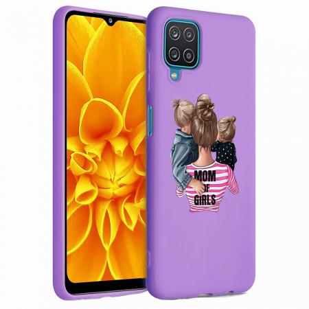 Husa Samsung Galaxy A12 - A42  - Silicon Matte - Mom Of Girls [3]