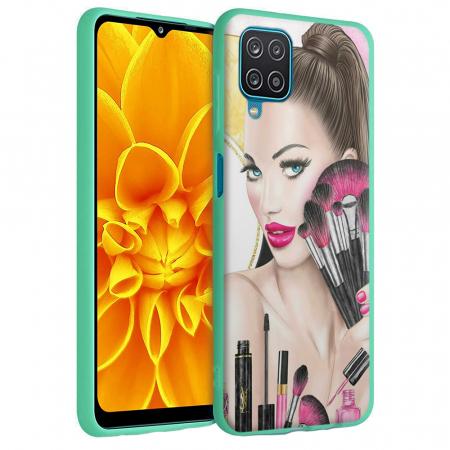 Husa Samsung Galaxy A12 - A42  - Silicon Matte - Make Up [5]