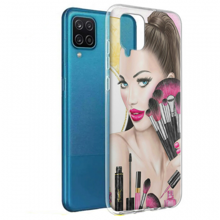 Husa Samsung Galaxy A12 - A42  - Silicon Matte - Make Up [7]