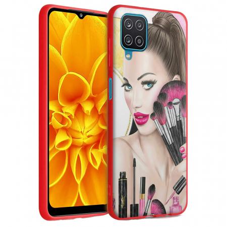Husa Samsung Galaxy A12 - A42  - Silicon Matte - Make Up [2]
