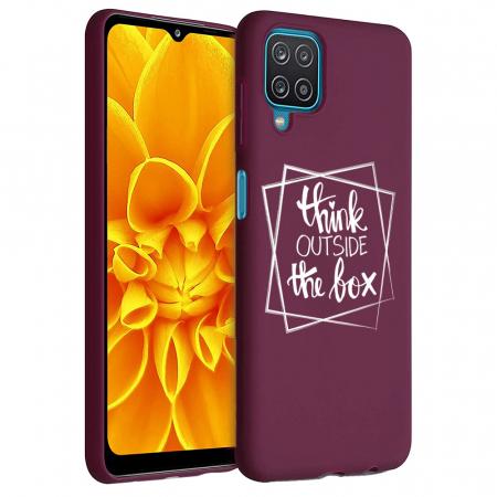 Husa Samsung Galaxy A12 - A42  - Silicon Matte - Outside of Box [1]