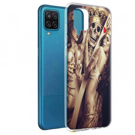 Husa Samsung Galaxy A12 - A42  - Silicon Matte - Poker King [0]