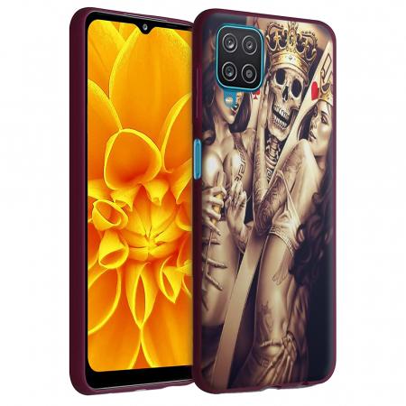Husa Samsung Galaxy A12 - A42  - Silicon Matte - Poker King [1]