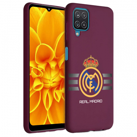 Husa Samsung Galaxy A12 - A42  - Silicon Matte - Real Madrid [1]
