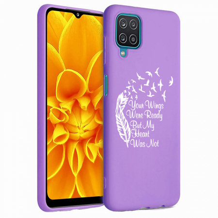 Husa Samsung Galaxy A12 - A42  - Silicon Matte - Your Wings [2]