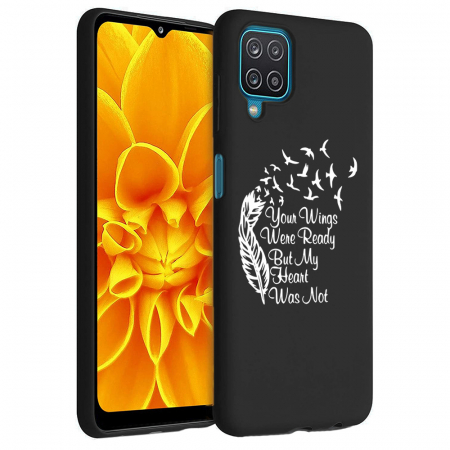 Husa Samsung Galaxy A12 - A42  - Silicon Matte - Your Wings [5]