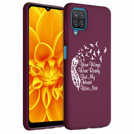 Husa Samsung Galaxy A12 - A42  - Silicon Matte - Your Wings [1]