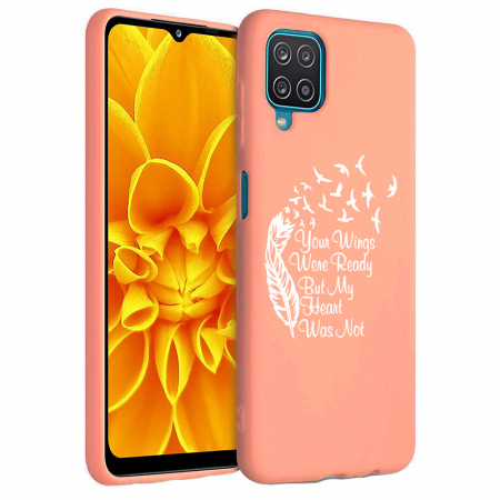 Husa Samsung Galaxy A12 - A42  - Silicon Matte - Your Wings [3]