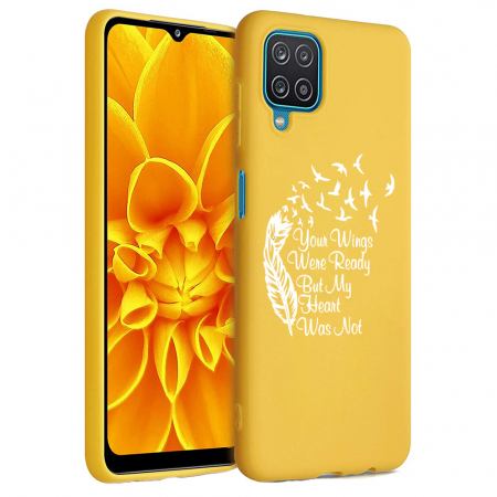 Husa Samsung Galaxy A12 - A42  - Silicon Matte - Your Wings [6]