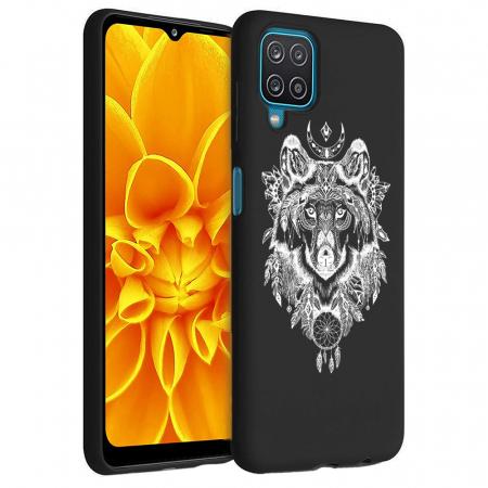 Husa Samsung Galaxy A12 - A42  - Silicon Matte - Wolf 1 [1]