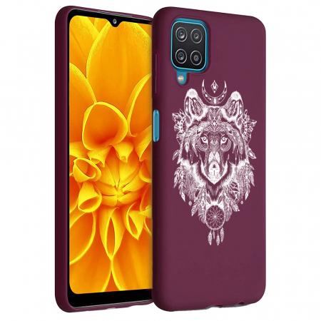 Husa Samsung Galaxy A12 - A42  - Silicon Matte - Wolf 1 [5]