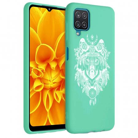 Husa Samsung Galaxy A12 - A42  - Silicon Matte - Wolf 1 [2]