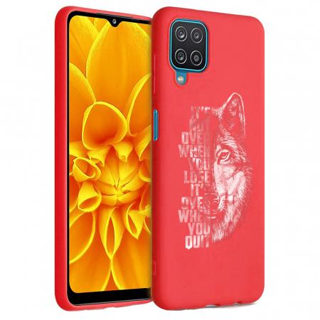 Husa Samsung Galaxy A12 - A42  - Silicon Matte - Wolf 2 [2]
