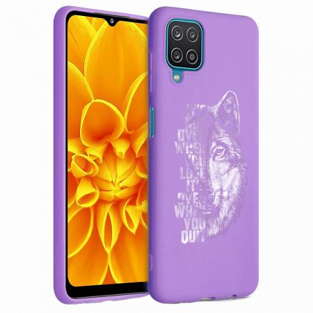 Husa Samsung Galaxy A12 - A42  - Silicon Matte - Wolf 2 [3]